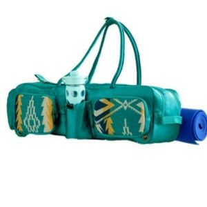 Pendleton Sunset Pass Yoga Bag Turquoise blanket